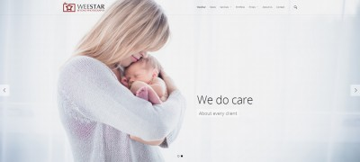 Website design – weestar.co.uk